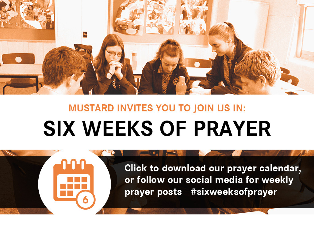 Six weeks prayer promo